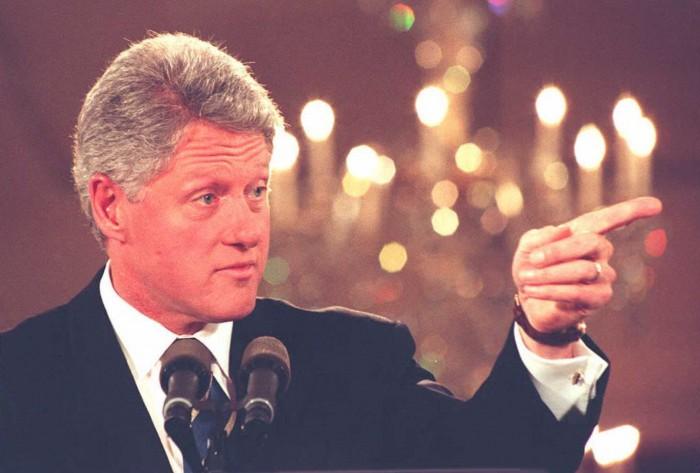 Bill Clinton, April 23, 1995