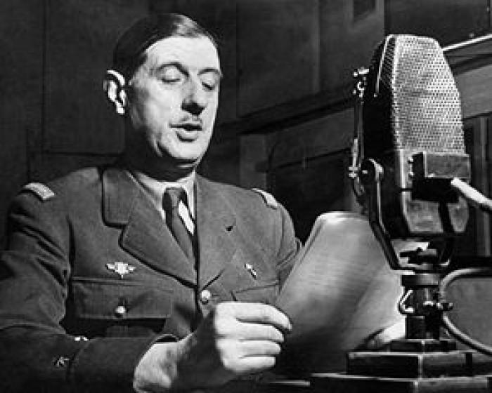 Charles de Gaulle, June 18, 1940