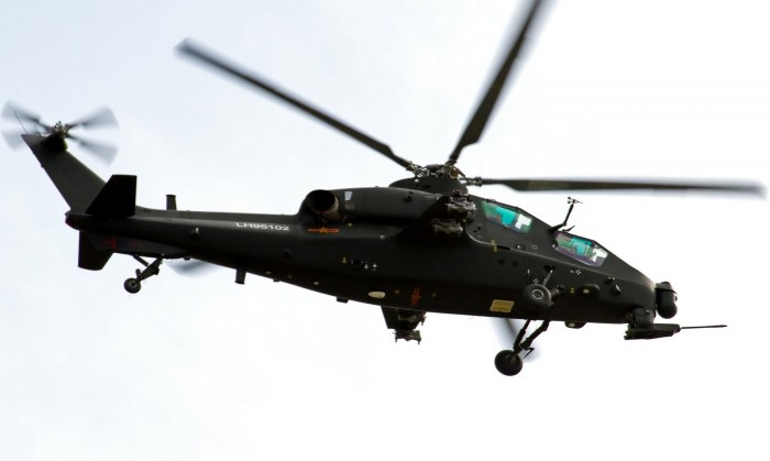 Chinese  Z-10 Attack Helicopter  gunship PLA PLAAF (3)