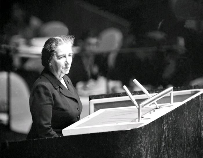 Golda Meir, January 17, 1957