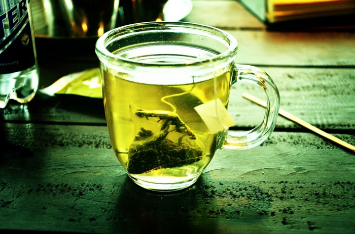 Green tea and aging