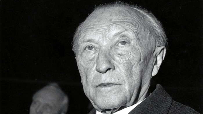 Konrad Adenauer, July 12, 1952