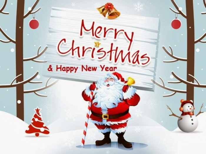 Merry Christmas 2013 and New Year 2014 Wallpapers free Download