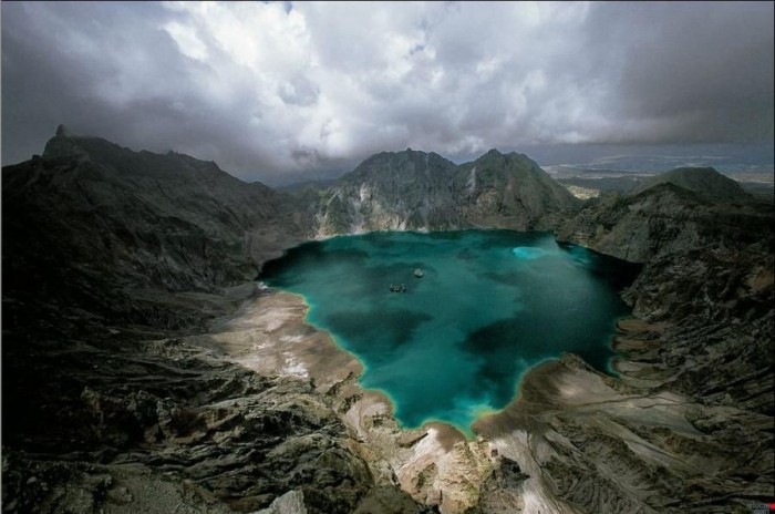 - Mt. Pinatubo, Philippines,
