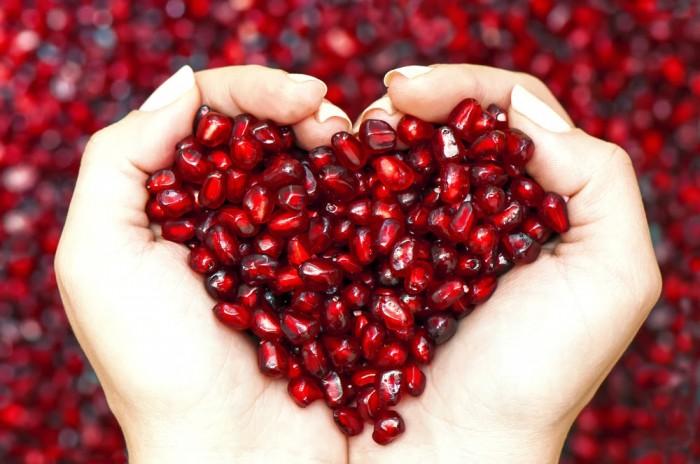 Pomegranate eliminates fever