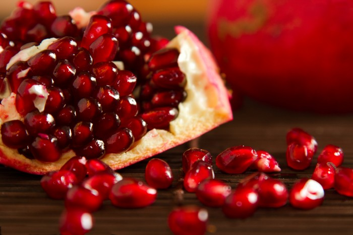 Pomegranate juice reduces the stress of work