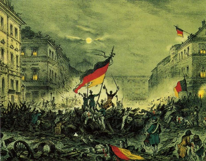 Revolutions of 1848 in the German states