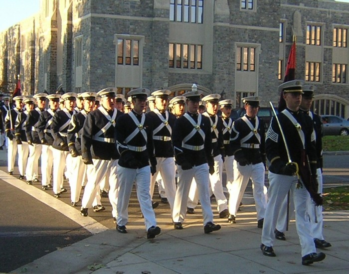 Virginia_Tech_Corps_marching