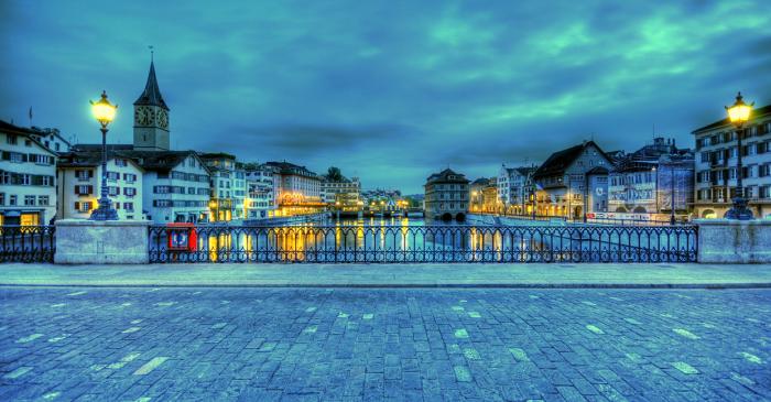Zurich-at-night