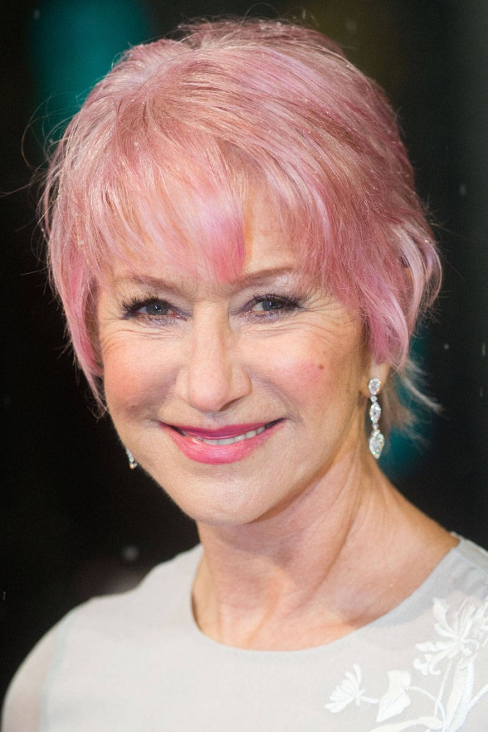Helen Mirren New Haircut 2013 | Short Hairstyle 2013