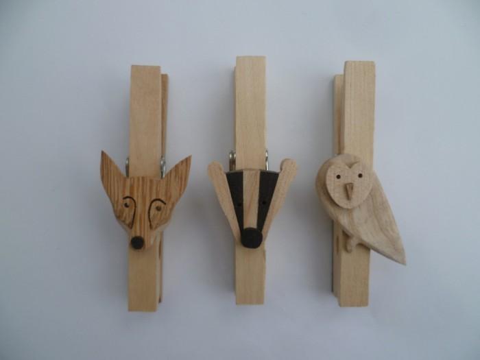 0064_Fox_Badger_Owl_fridge_peg_magnets