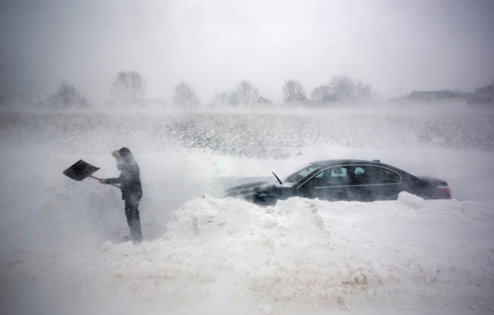 Afghanistan Blizzard (2008