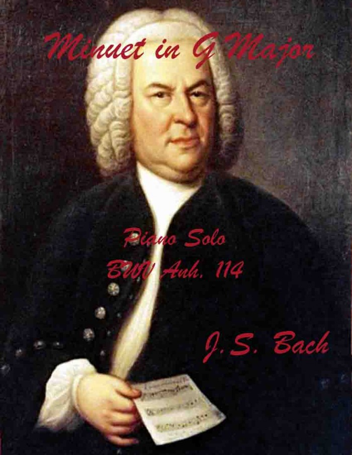 Bach Minuet In G Major