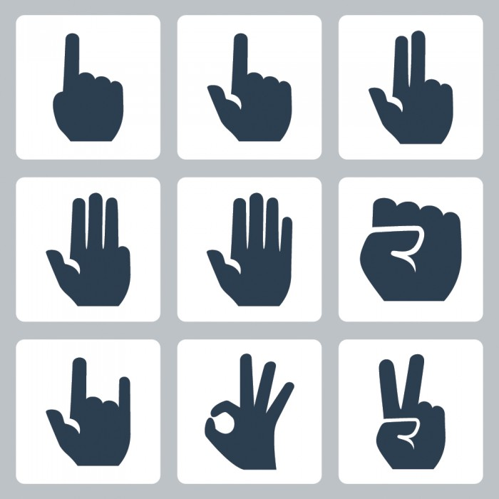 Confusing hand signals