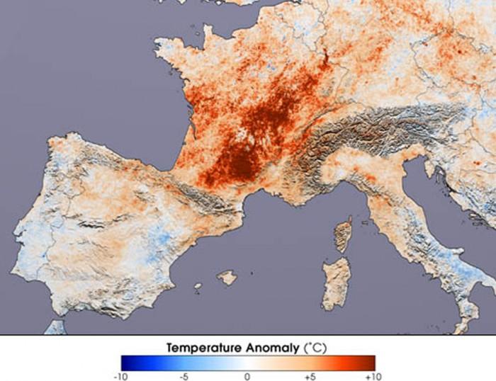 European Heat Wave (2003