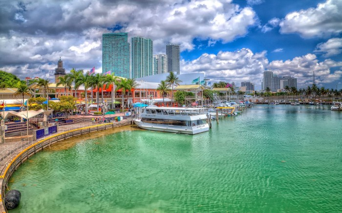 Miami-Florida-Beach-Marina-HD-Desktop-Wallpaper