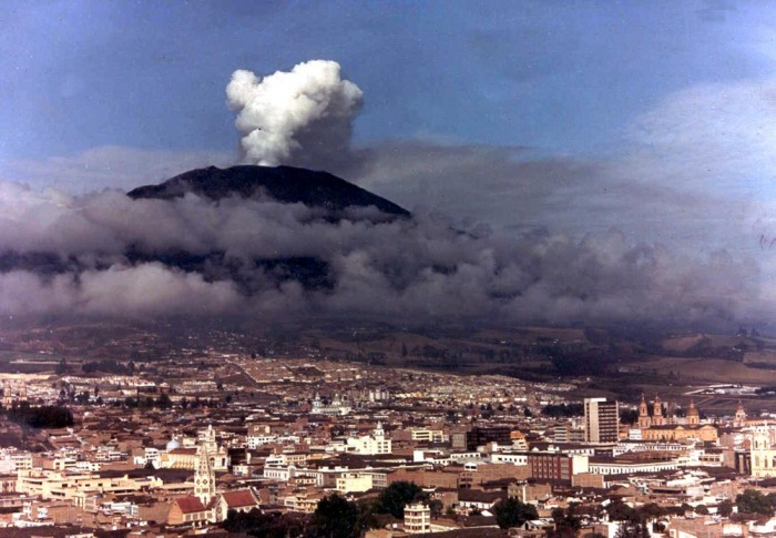 Nevado del Ruiz Volcano Eruption (1985