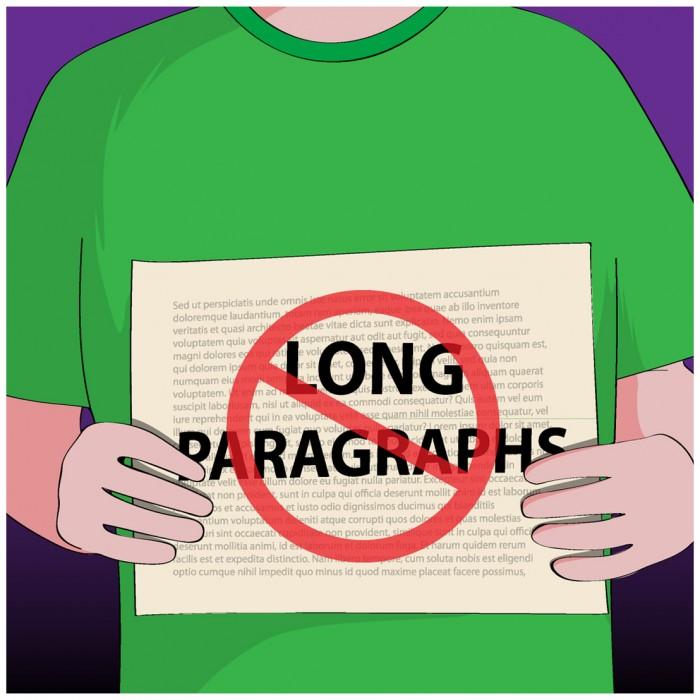 No paragraphs