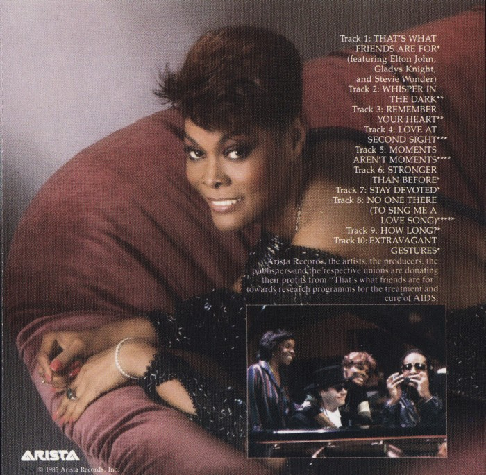 That's What Friends Are For – Dionne Warwick and Friends