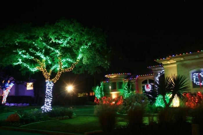 Top 10 Outdoor Christmas Light Ideas on Patio Lights Decorating Ideas id=52751