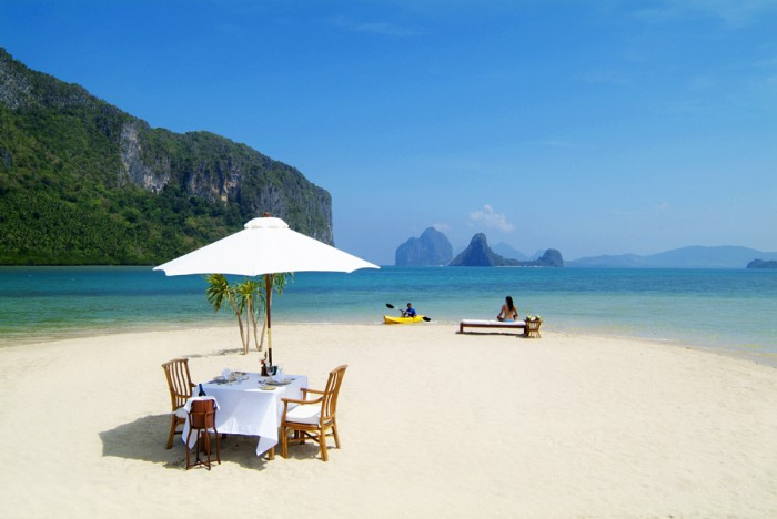 el nido private picnic