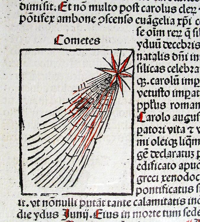Chronicle comet