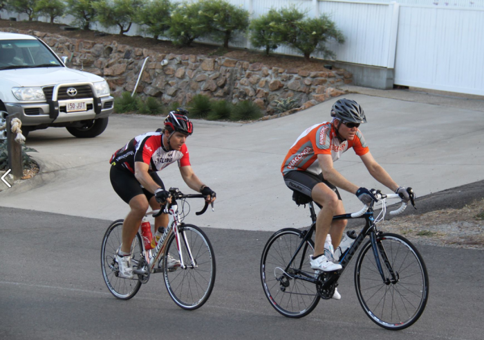 Cycling builds stamina