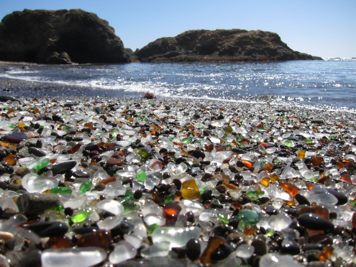 Glass Beach, California, USA