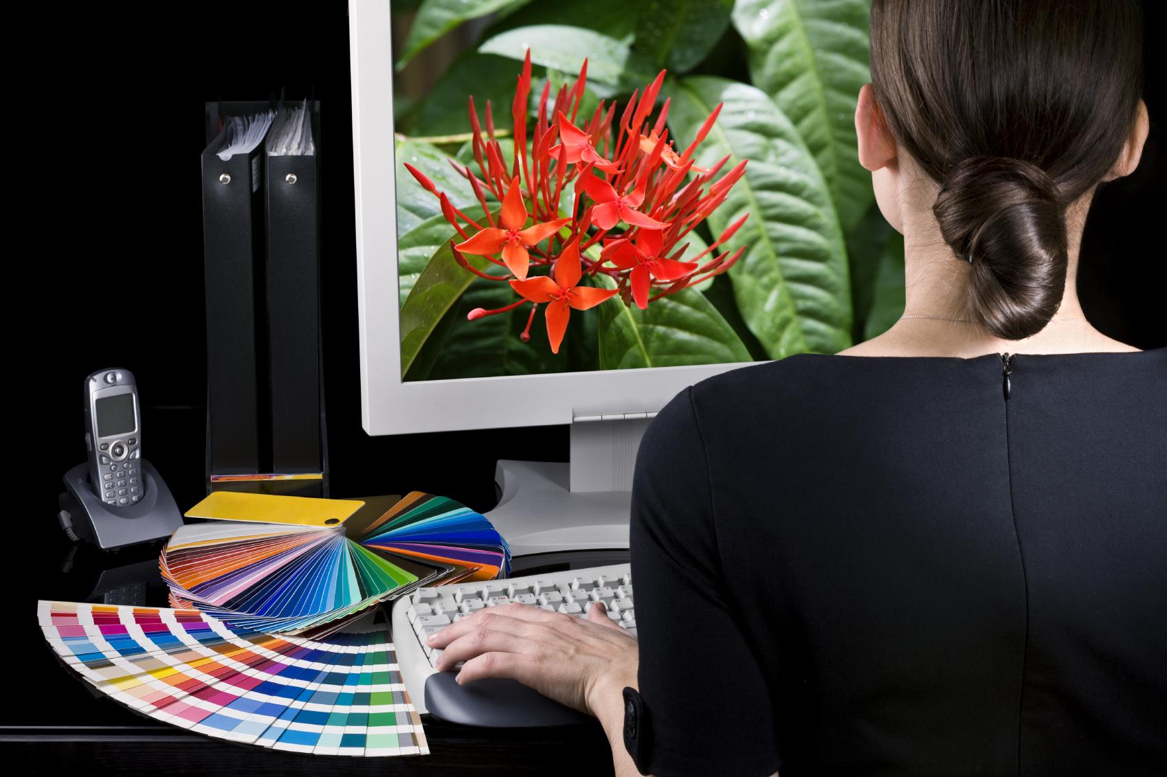 Дизайн на компьютерную тему