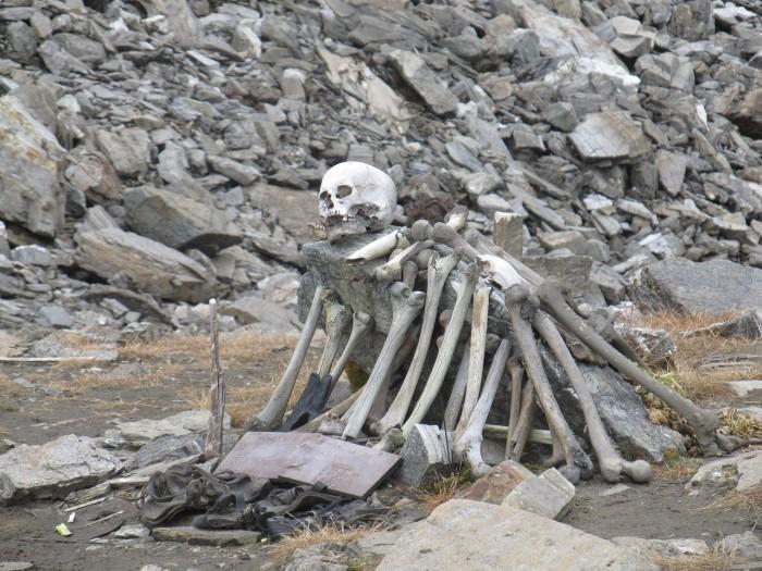Skeleton Lake of Roopkund, Uttarakhand, India
