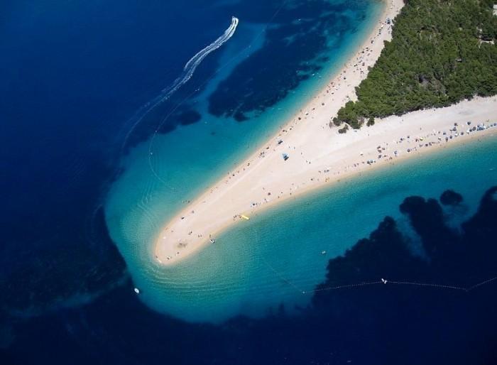 The Golden Horn Beach, Brac Island, Croatia