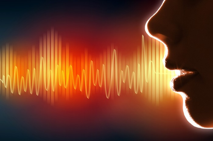 To sound trustworthy, keep your voice down