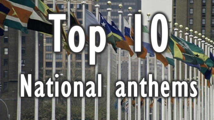 Photo of Top 10 Best National Anthems In The Whole World