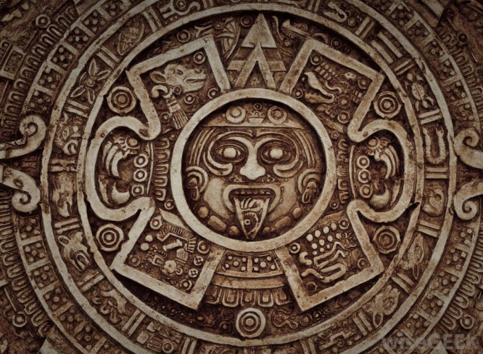 close-view-of-mayan-calendar