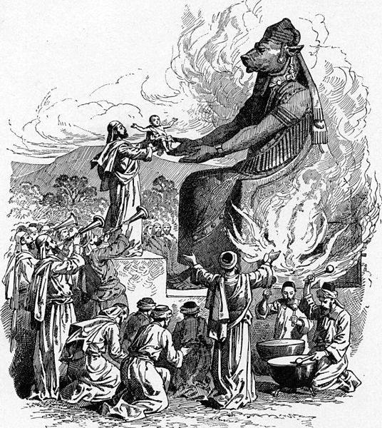 semitic-offering-to-molech