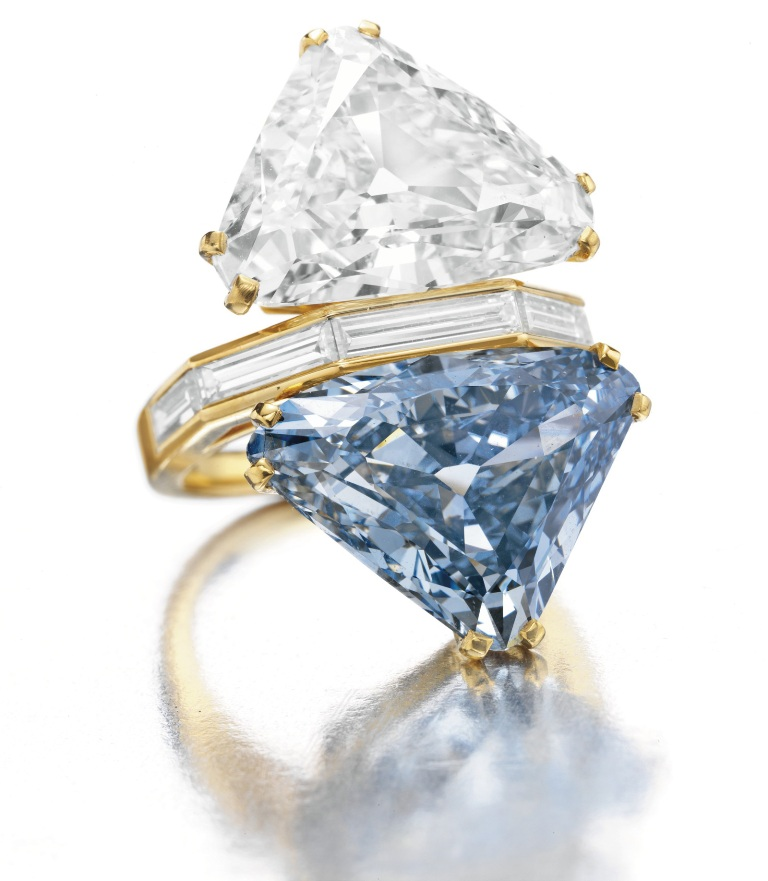 Bulgari Blue Diamond Ring