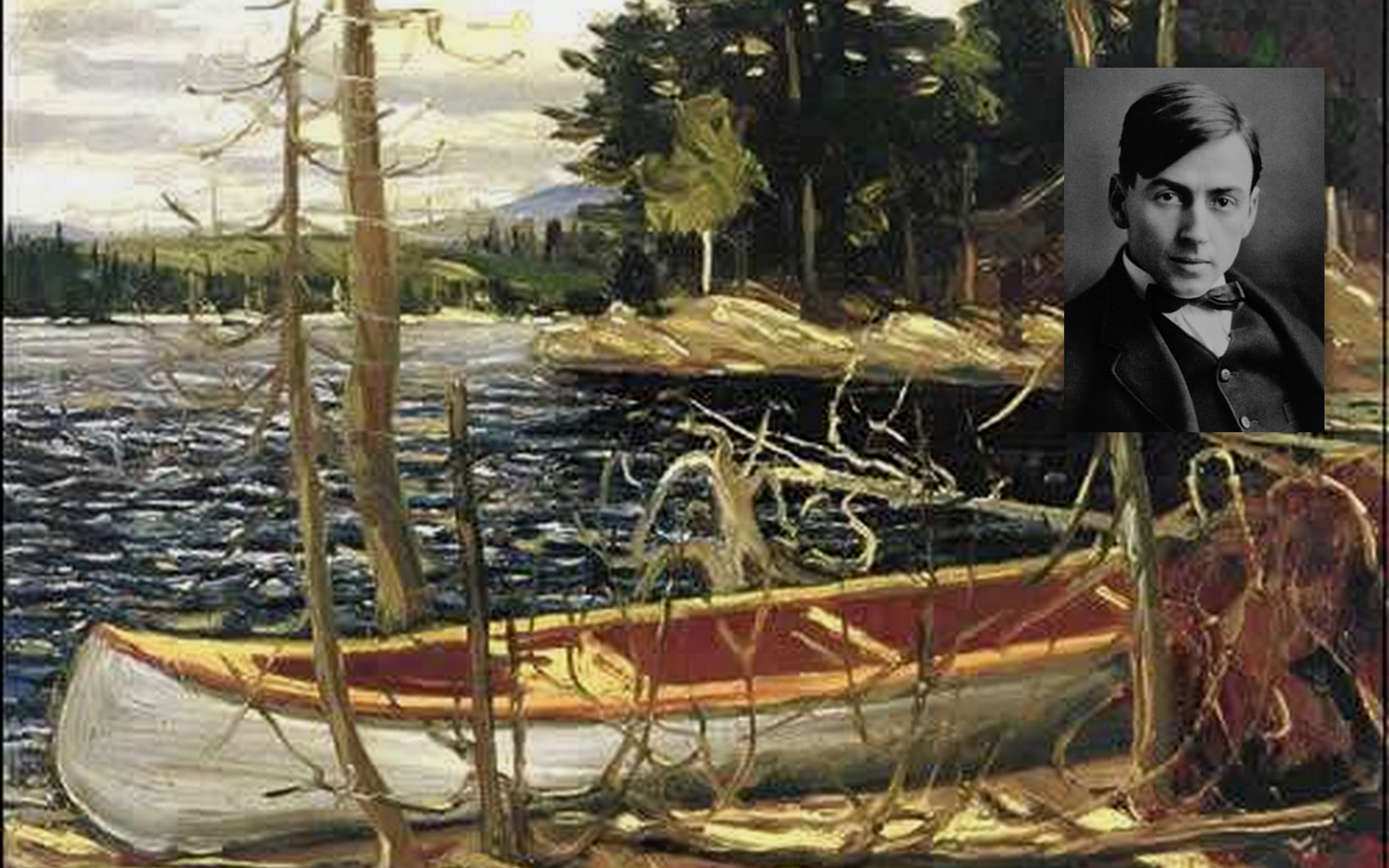 Canadian painter Tom Thomson