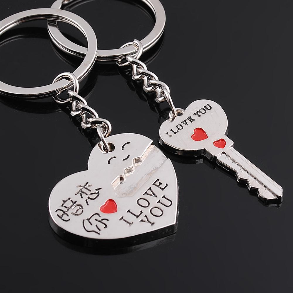 Free-shipping-creative-amo-chaveiro-sweetheart-love-keyring-birthday-gifts-zinc-alloy-lovers-key-chains-red