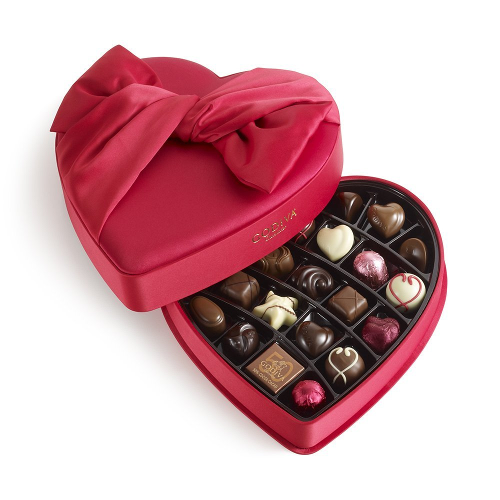 Godiva-chocolate-heart-box