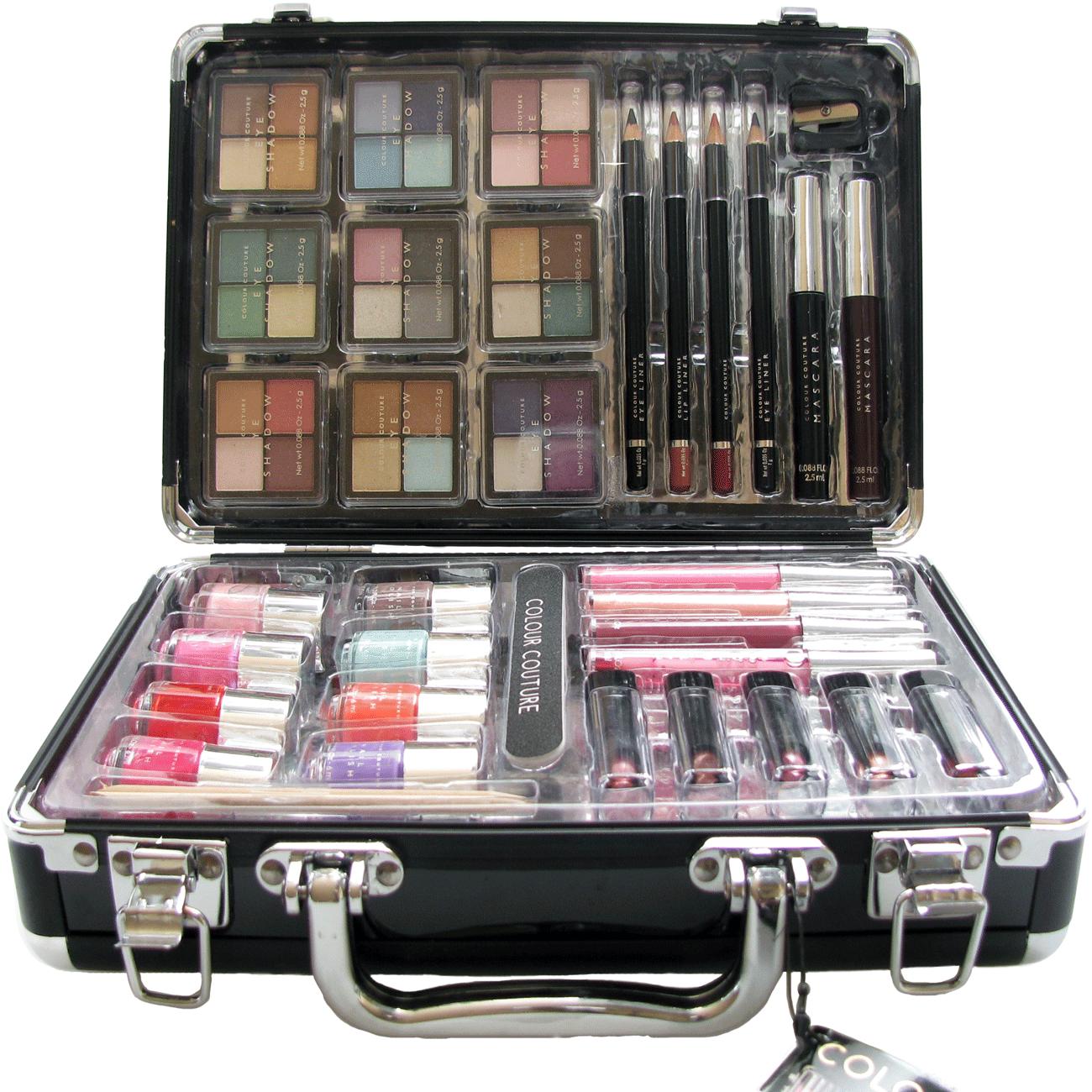 Integrated makeup box
