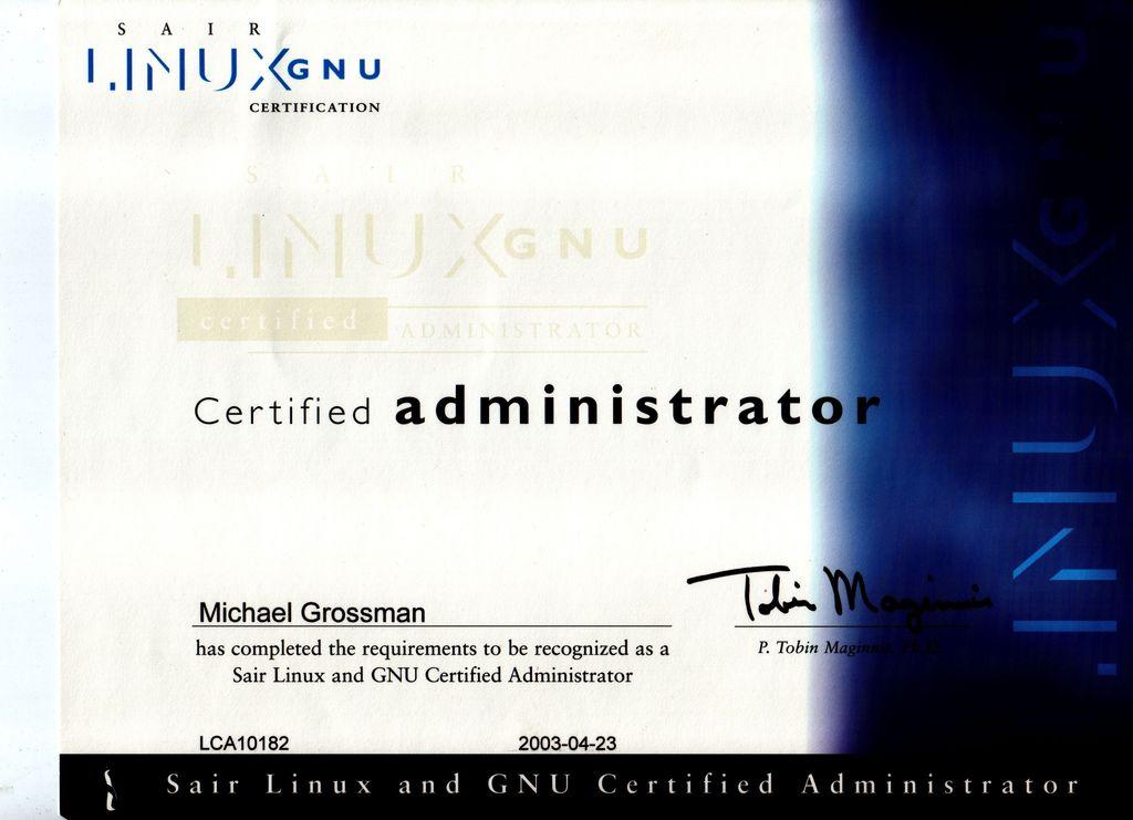 Linux Enterprise Professional Certification