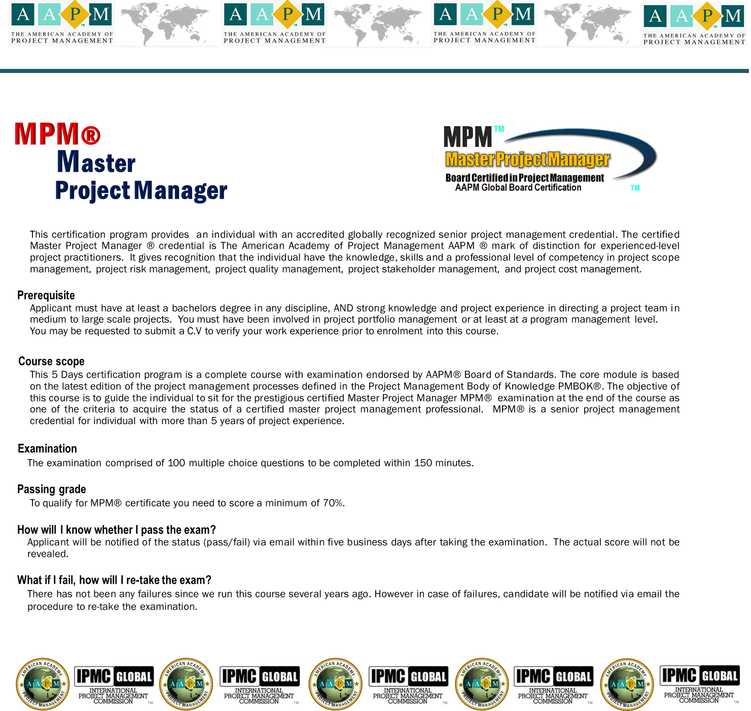 MPM Master Project Manager