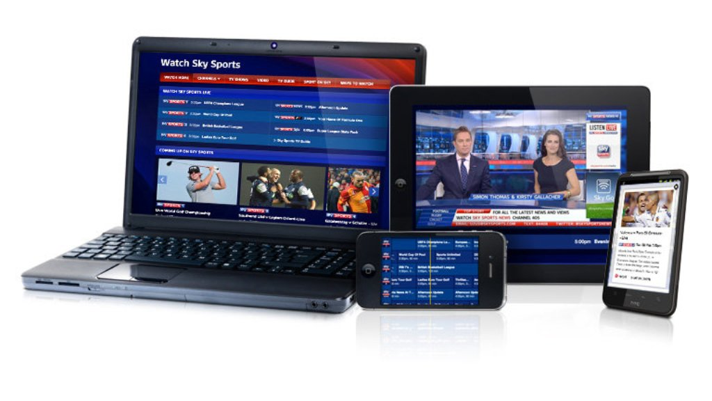 Online streaming of TV