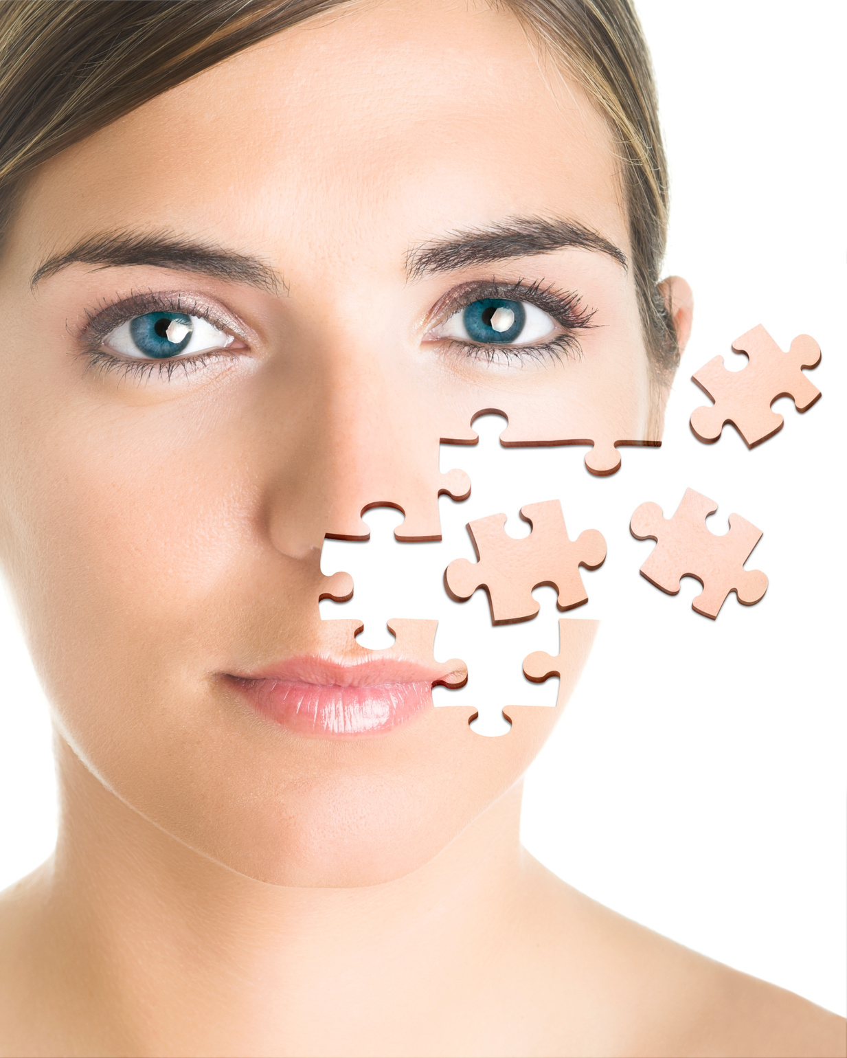 top most recorded countries the most plastic surgeries puzzle face