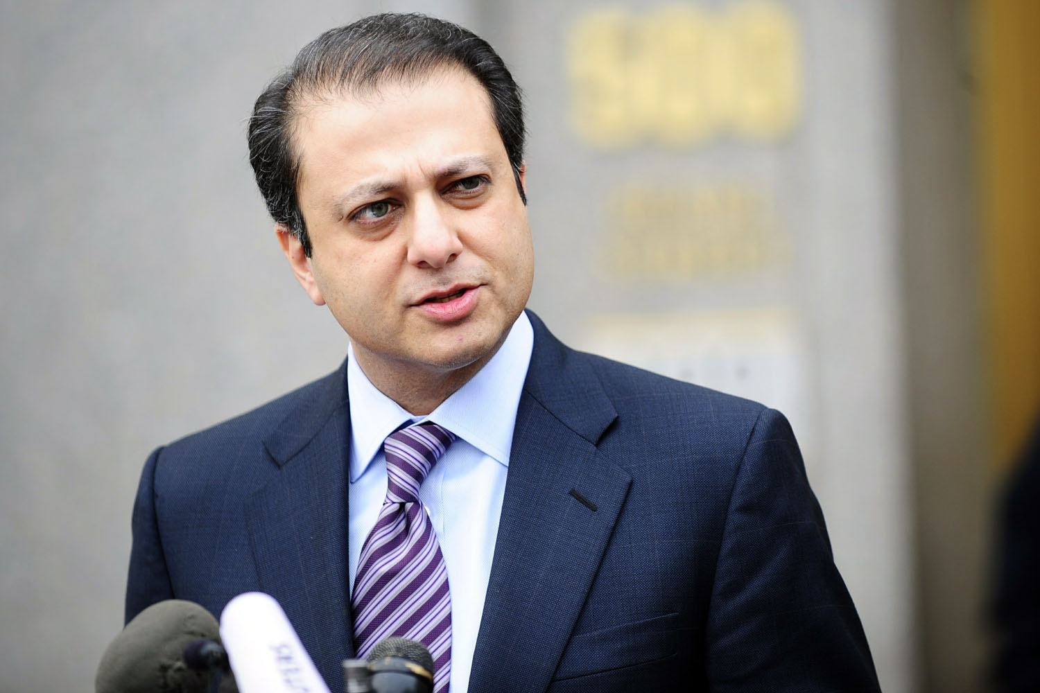 US attorney and lead prosecutor Preet Bh