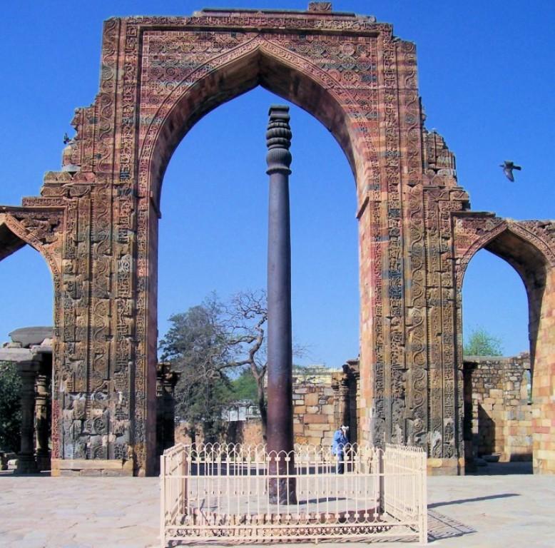 Rustproof Iron Pillar