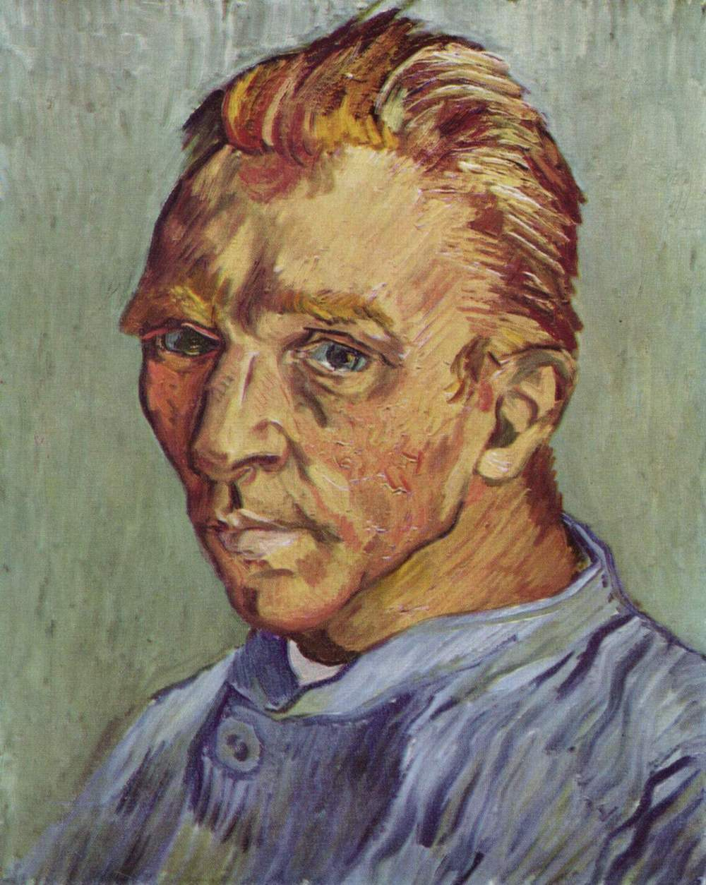 Self-Portrait Without Beard