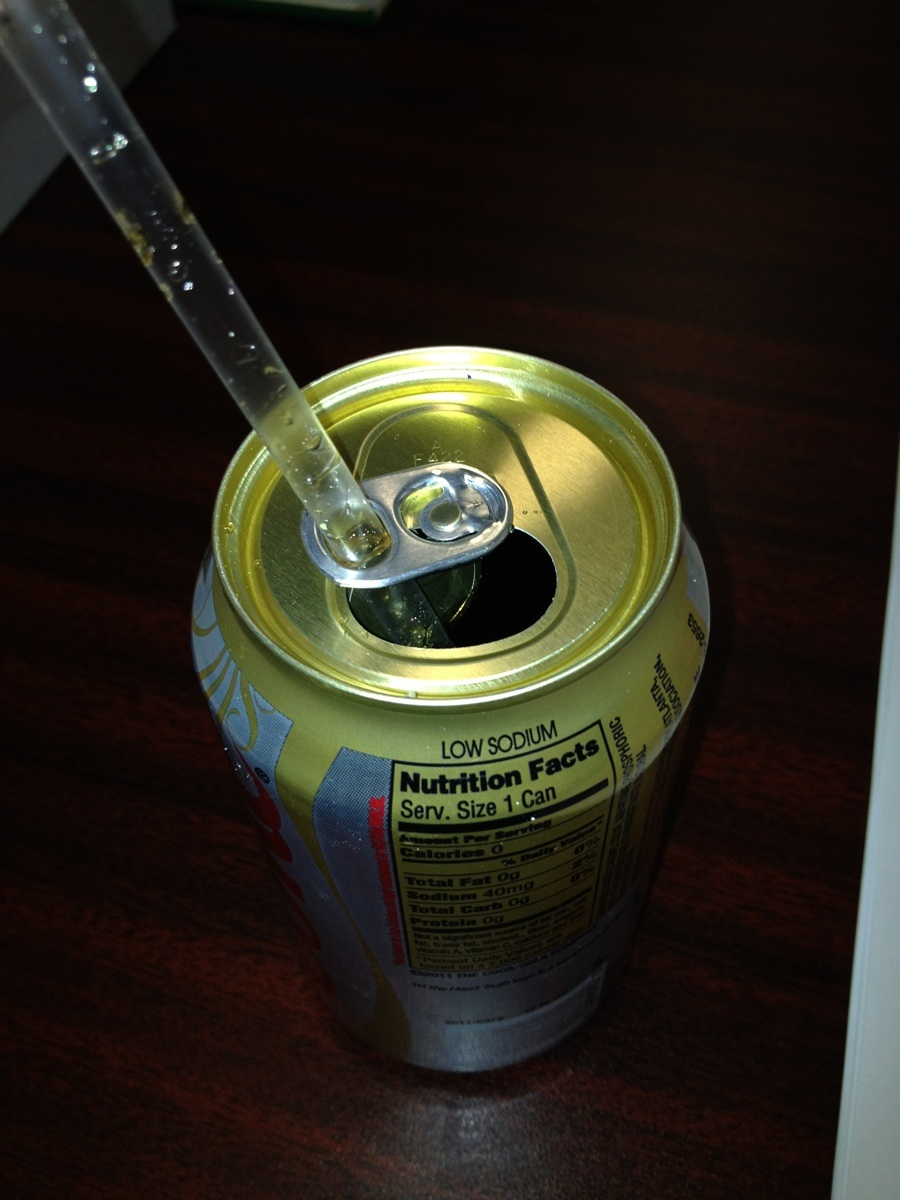Soda Cans and Straws