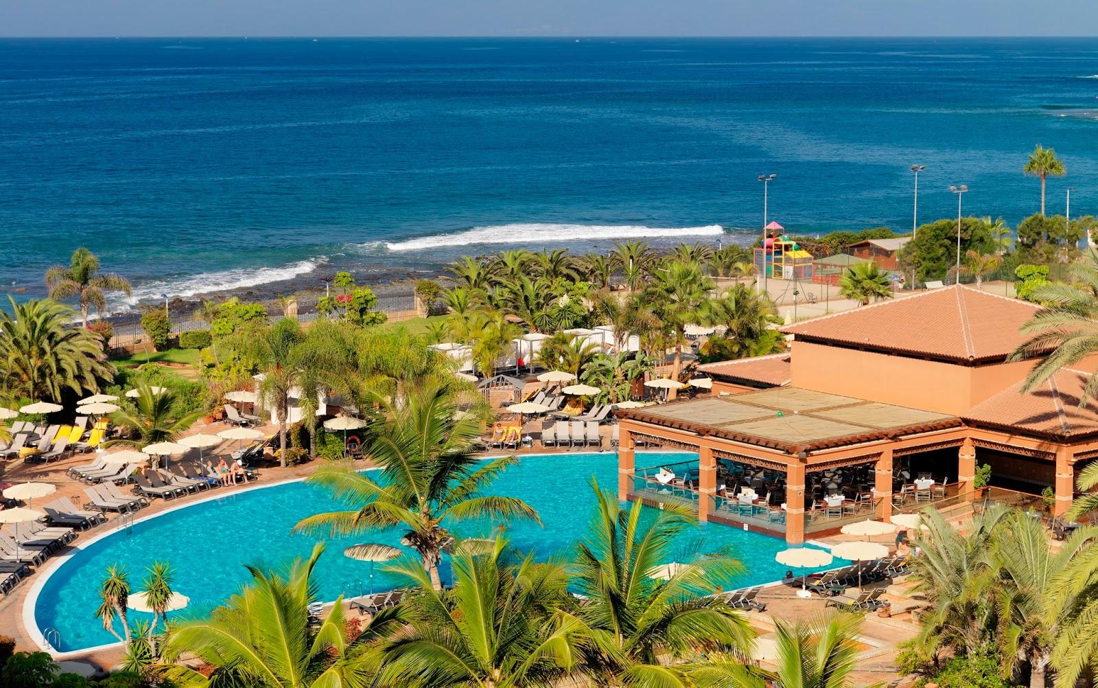 Spain, Canary Islands, Tenerife, Costa Adeje, H10 Costa Adeje Palace