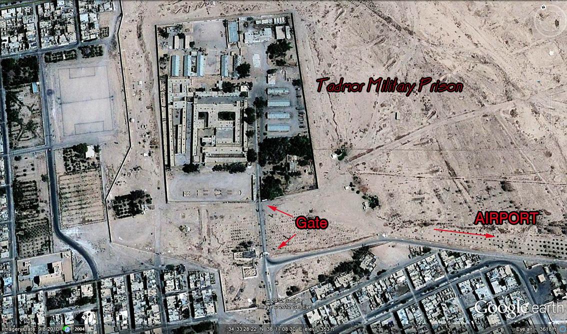 Tadmor Military Prison, Syria1